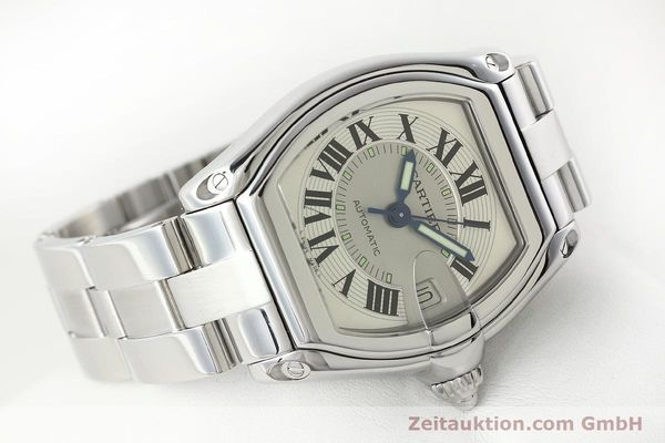 Used luxury watch Cartier Roadster steel automatic Kal. 3110 ETA 2892-2  | 142489 03