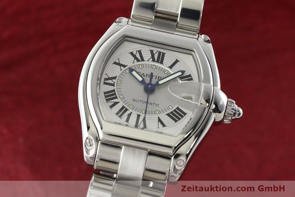 Used luxury watch Cartier Roadster steel automatic Kal. 3110 ETA 2892-2  | 142489 04