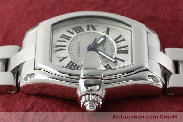 Used luxury watch Cartier Roadster steel automatic Kal. 3110 ETA 2892-2  | 142489 05