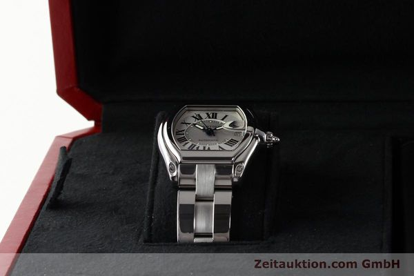 Used luxury watch Cartier Roadster steel automatic Kal. 3110 ETA 2892-2  | 142489 07