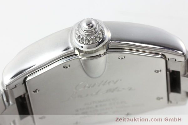 Used luxury watch Cartier Roadster steel automatic Kal. 3110 ETA 2892-2  | 142489 10