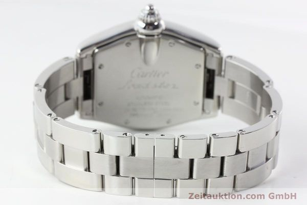 Used luxury watch Cartier Roadster steel automatic Kal. 3110 ETA 2892-2  | 142489 13