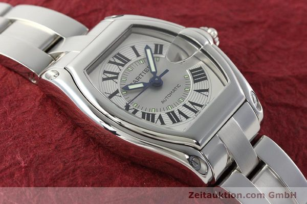 Used luxury watch Cartier Roadster steel automatic Kal. 3110 ETA 2892-2  | 142489 15