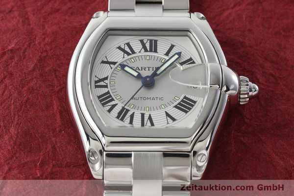 Used luxury watch Cartier Roadster steel automatic Kal. 3110 ETA 2892-2  | 142489 16