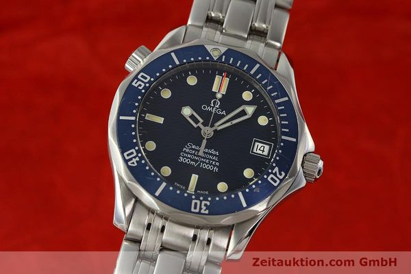 Used luxury watch Omega Seamaster steel automatic Kal. 1109  | 142490 04