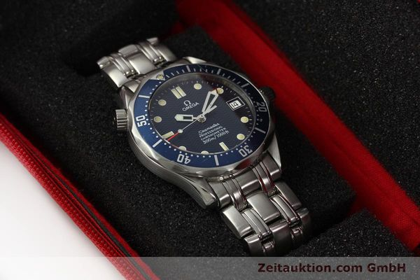 Used luxury watch Omega Seamaster steel automatic Kal. 1109  | 142490 07