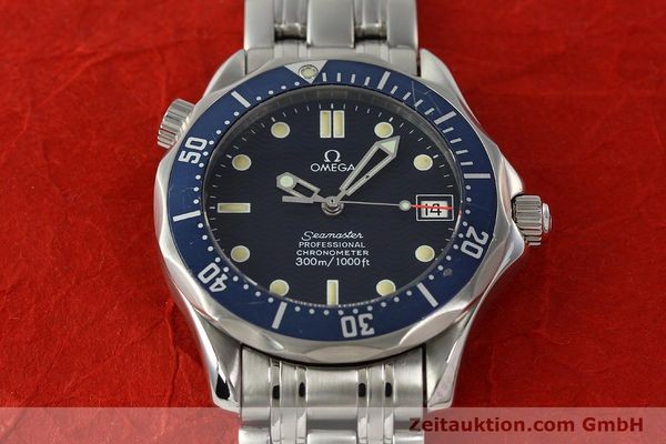 Used luxury watch Omega Seamaster steel automatic Kal. 1109  | 142490 16