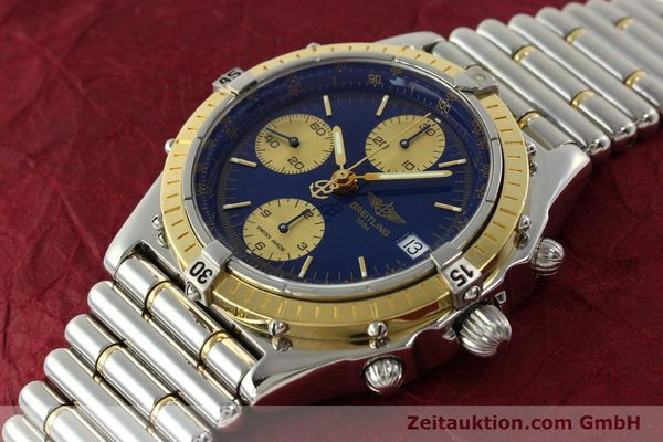 Used luxury watch Breitling Chronomat chronograph steel / gold automatic Kal. B13 ETA 7750 Ref. D13048  | 142493 01