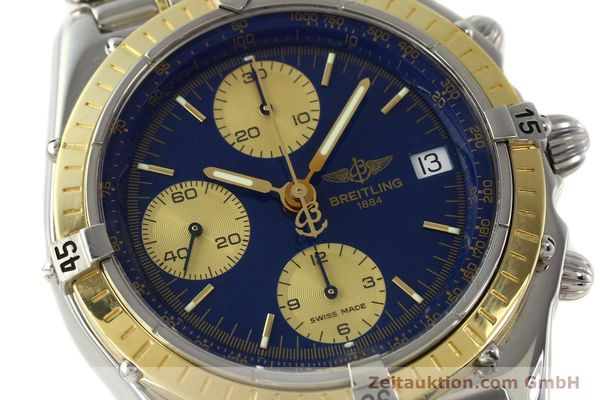 Used luxury watch Breitling Chronomat chronograph steel / gold automatic Kal. B13 ETA 7750 Ref. D13048  | 142493 02