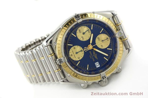 Used luxury watch Breitling Chronomat chronograph steel / gold automatic Kal. B13 ETA 7750 Ref. D13048  | 142493 03