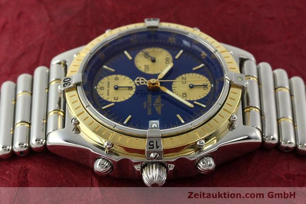 Used luxury watch Breitling Chronomat chronograph steel / gold automatic Kal. B13 ETA 7750 Ref. D13048  | 142493 05