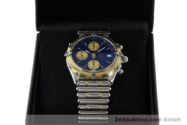 Used luxury watch Breitling Chronomat chronograph steel / gold automatic Kal. B13 ETA 7750 Ref. D13048  | 142493 07