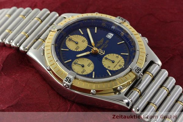 Used luxury watch Breitling Chronomat chronograph steel / gold automatic Kal. B13 ETA 7750 Ref. D13048  | 142493 13