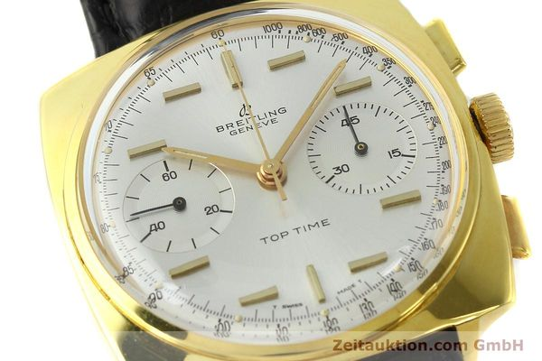 Used luxury watch Breitling Top Time chronograph gold-plated manual winding Kal. Venus 188 Ref. 2008  | 142494 02