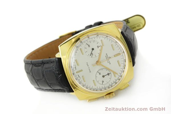 Used luxury watch Breitling Top Time chronograph gold-plated manual winding Kal. Venus 188 Ref. 2008  | 142494 03