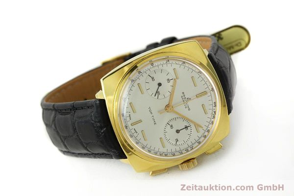 Used luxury watch Breitling Top Time chronograph gold-plated manual winding Kal. Venus 188 Ref. 2008  | 142494 04