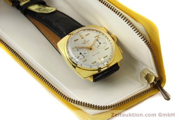 Used luxury watch Breitling Top Time chronograph gold-plated manual winding Kal. Venus 188 Ref. 2008  | 142494 08