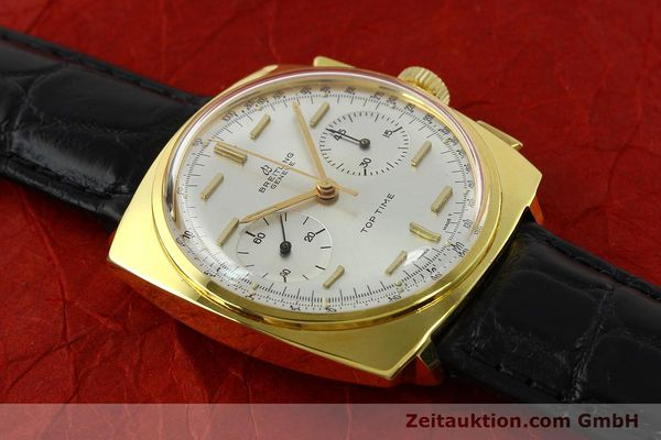 Used luxury watch Breitling Top Time chronograph gold-plated manual winding Kal. Venus 188 Ref. 2008  | 142494 13