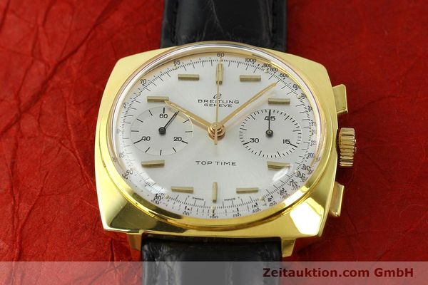 Used luxury watch Breitling Top Time chronograph gold-plated manual winding Kal. Venus 188 Ref. 2008  | 142494 14