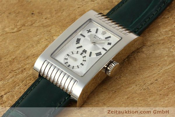 Used luxury watch Rolex Cellini 18 ct white gold manual winding Kal. 7040-3 Ref. 5441  | 142496 01
