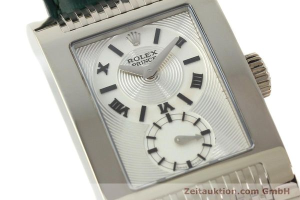 Used luxury watch Rolex Cellini 18 ct white gold manual winding Kal. 7040-3 Ref. 5441  | 142496 02