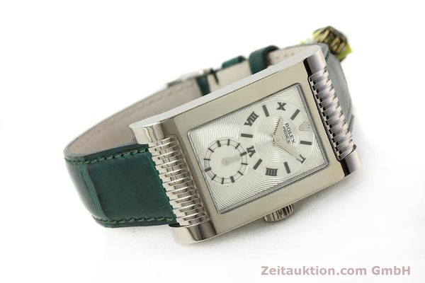Used luxury watch Rolex Cellini 18 ct white gold manual winding Kal. 7040-3 Ref. 5441  | 142496 03