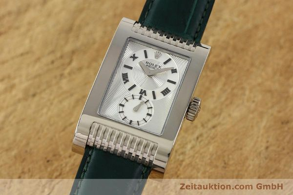 Used luxury watch Rolex Cellini 18 ct white gold manual winding Kal. 7040-3 Ref. 5441  | 142496 04