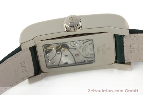 Used luxury watch Rolex Cellini 18 ct white gold manual winding Kal. 7040-3 Ref. 5441  | 142496 11