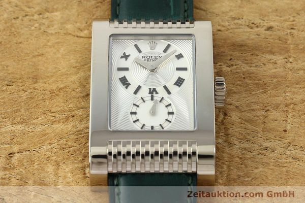Used luxury watch Rolex Cellini 18 ct white gold manual winding Kal. 7040-3 Ref. 5441  | 142496 16