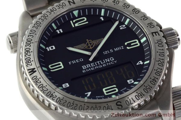 Used luxury watch Breitling Emergency titanium quartz Kal. B56 Ref. E56121.1  | 142498 02