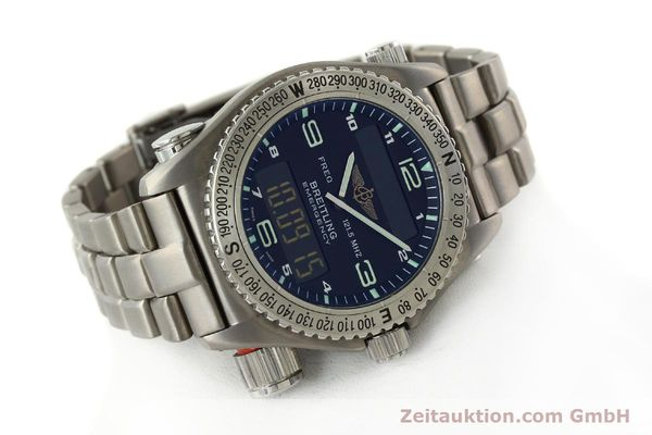 Used luxury watch Breitling Emergency titanium quartz Kal. B56 Ref. E56121.1  | 142498 03