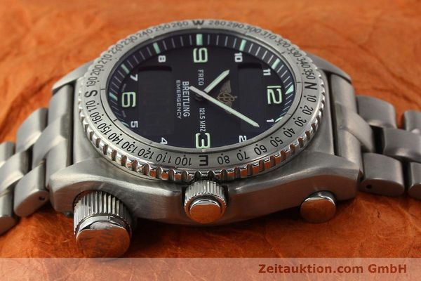 Used luxury watch Breitling Emergency titanium quartz Kal. B56 Ref. E56121.1  | 142498 05
