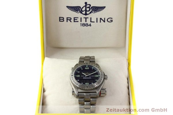 Used luxury watch Breitling Emergency titanium quartz Kal. B56 Ref. E56121.1  | 142498 07