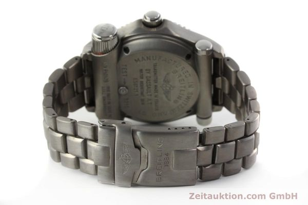 Used luxury watch Breitling Emergency titanium quartz Kal. B56 Ref. E56121.1  | 142498 10