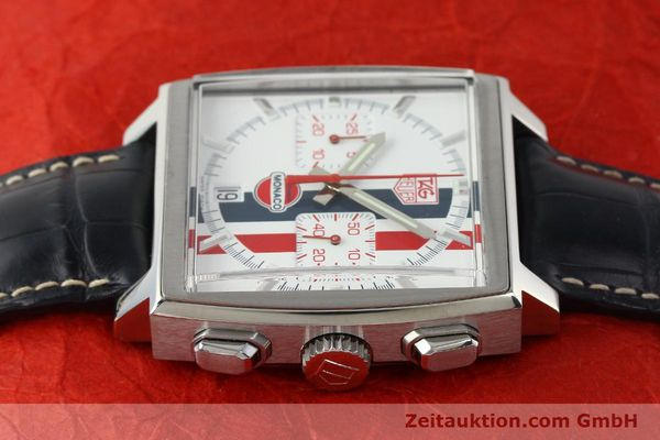 Used luxury watch Tag Heuer Monaco chronograph steel automatic Kal. ETA 2894-2 Ref. CW2118 LIMITED EDITION | 142499 05