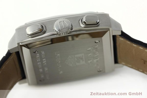 Used luxury watch Tag Heuer Monaco chronograph steel automatic Kal. ETA 2894-2 Ref. CW2118 LIMITED EDITION | 142499 08