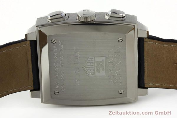Used luxury watch Tag Heuer Monaco chronograph steel automatic Kal. ETA 2894-2 Ref. CW2118 LIMITED EDITION | 142499 09