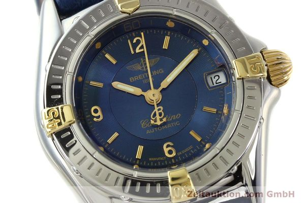 Used luxury watch Breitling Callistino steel / gold automatic Kal. B31 ETA 2000 Ref. B31043  | 142501 02