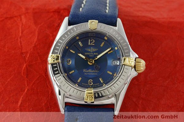 Used luxury watch Breitling Callistino steel / gold automatic Kal. B31 ETA 2000 Ref. B31043  | 142501 15