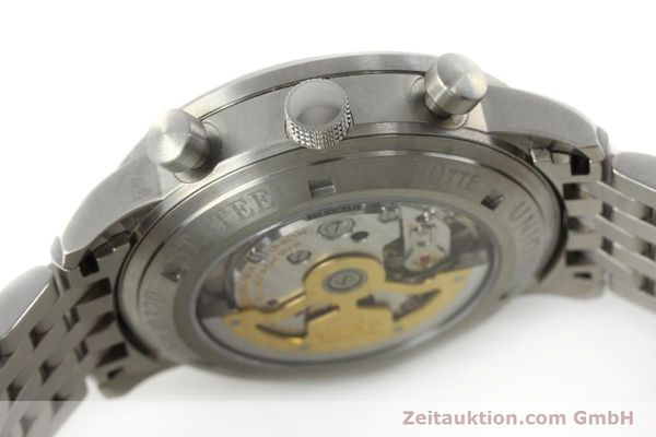 Used luxury watch Union Glashütte Klassik chronograph steel automatic Kal. 26 Ref. 26-32005510  | 142502 11