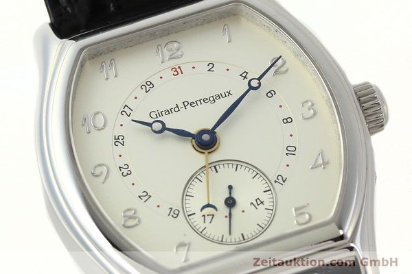 Used luxury watch Girard Perregaux Richeville steel automatic Kal. 2201-960B Ref. 2730  | 142504 02