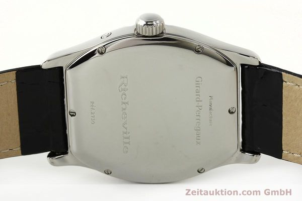 Used luxury watch Girard Perregaux Richeville steel automatic Kal. 2201-960B Ref. 2730  | 142504 09
