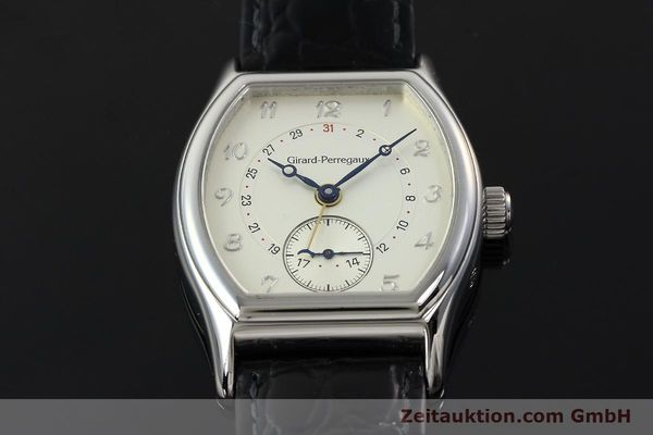 Used luxury watch Girard Perregaux Richeville steel automatic Kal. 2201-960B Ref. 2730  | 142504 14