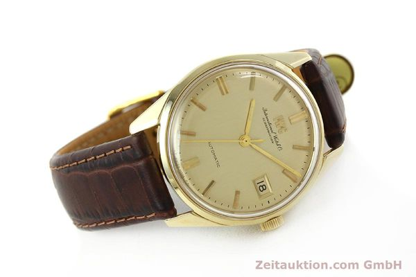 Used luxury watch IWC Portofino 14 ct yellow gold automatic Kal. 8541 Ref. 910A  | 142505 03