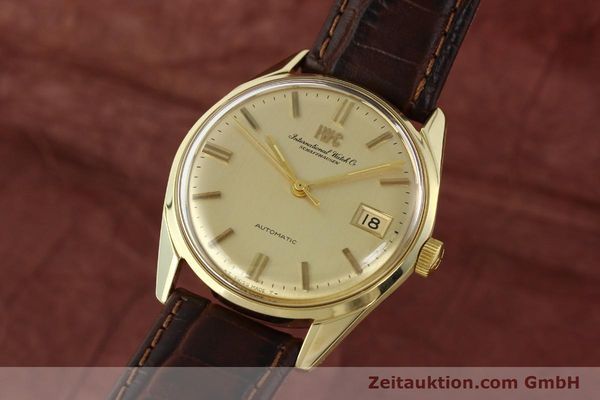 Used luxury watch IWC Portofino 14 ct yellow gold automatic Kal. 8541 Ref. 910A  | 142505 04