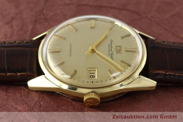 Used luxury watch IWC Portofino 14 ct yellow gold automatic Kal. 8541 Ref. 910A  | 142505 05
