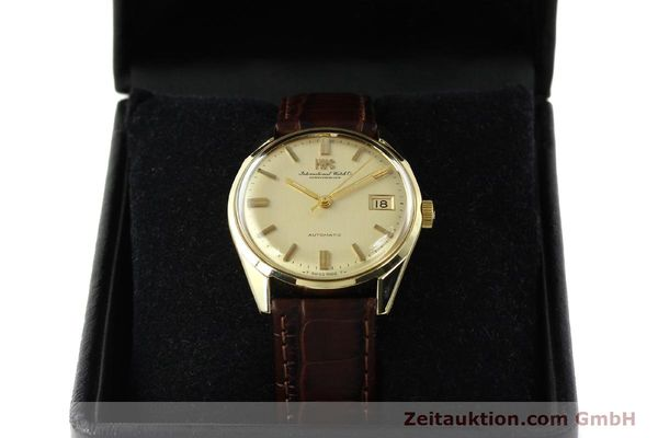 Used luxury watch IWC Portofino 14 ct yellow gold automatic Kal. 8541 Ref. 910A  | 142505 07