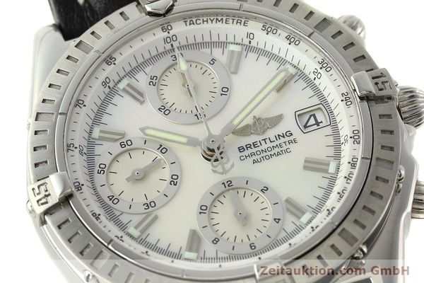 Used luxury watch Breitling Chronomat chronograph steel automatic Kal. B13 ETA 7750 Ref. A13352  | 142511 02