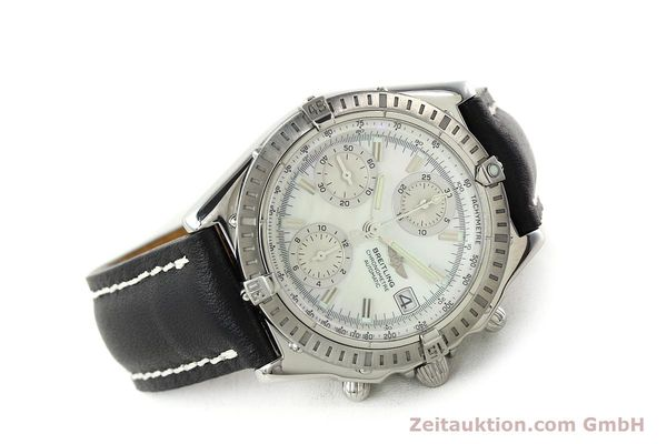 Used luxury watch Breitling Chronomat chronograph steel automatic Kal. B13 ETA 7750 Ref. A13352  | 142511 03