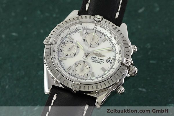 Used luxury watch Breitling Chronomat chronograph steel automatic Kal. B13 ETA 7750 Ref. A13352  | 142511 04